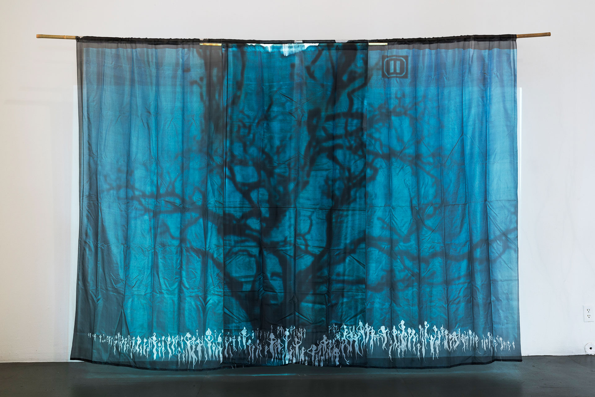 Charley Case, Atomic Tree, (Re-)Cycle of Paradise exhibition, COP15, Copenhagen, 2009
