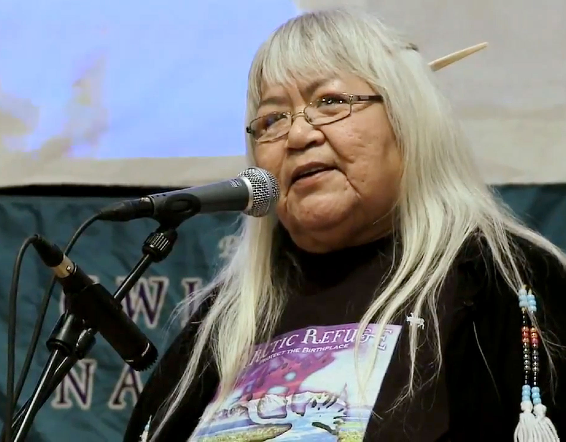 sarah-agnes-james--chairperson-of-the-Gwich'in-Steering-Committee