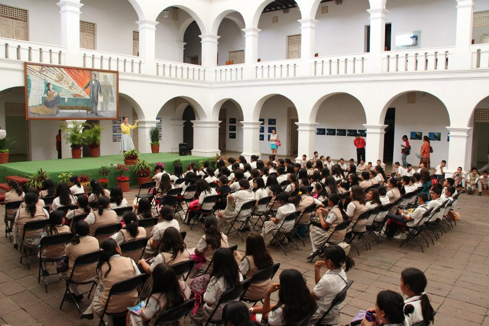 Museo de la Ciudad de Cuernavaca (MuCIC), Workshop with Anne-Marie Melster and students