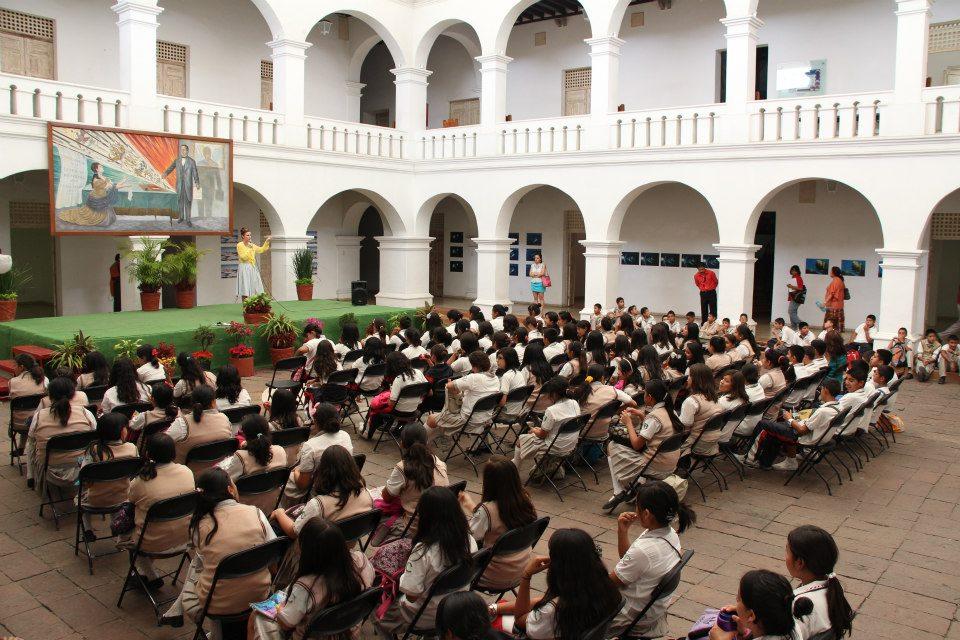 Museo de la Ciudad de Cuernavaca (MuCIC), Workshop with Anne-Marie Melster and students