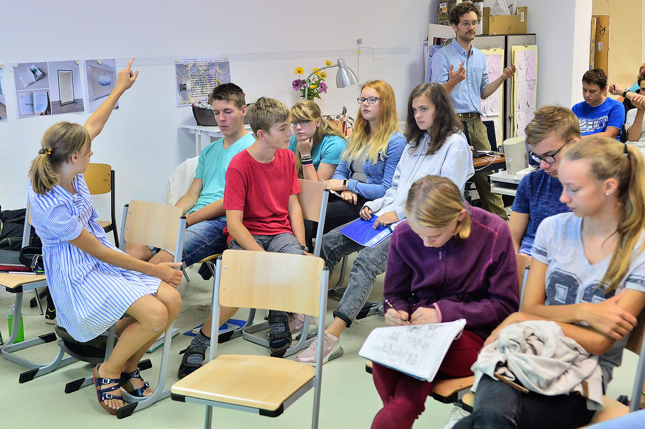 WE ARE OCEAN Berlin, Workshop at the A_Montessorischule Niederbarnim Brandenburg