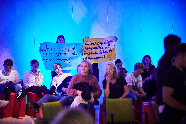 """WE ARE OCEAN Berlin"" at Futurium, October 2019 (Berlin am Meer Klimakrise)"