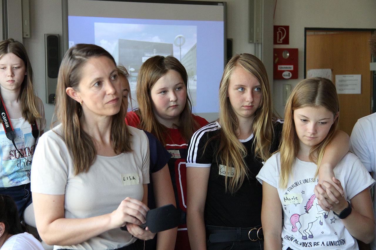 WIR SIND DAS MEER BERLIN Workshop at the Barbara-Zürner-Oberschule Velten,  Brandenburg