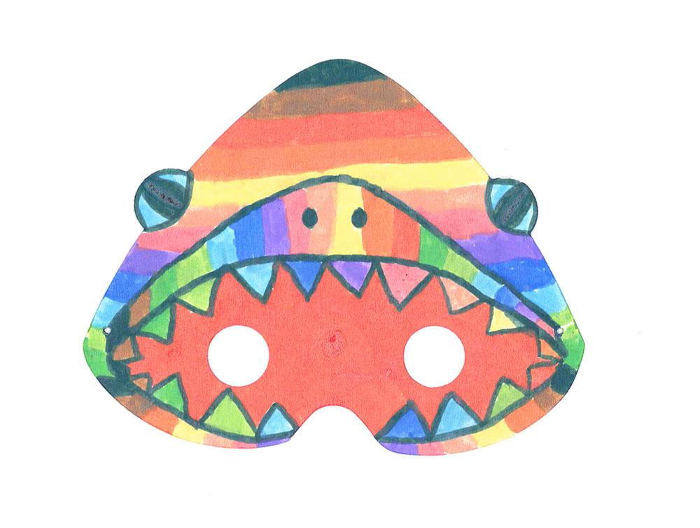 """We are Ocean Marseille"" 2020, (Shark mask)"